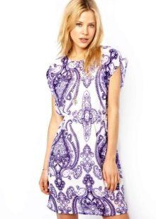 Туника-платье с принтом
