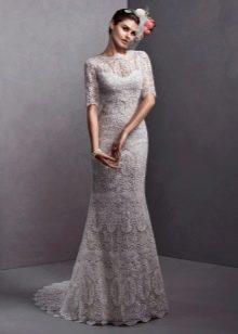 Кружевное платье в стиле чикаго