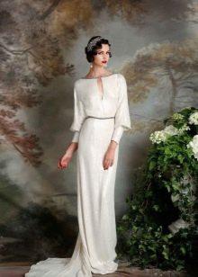 Платье с длинными рукавами в стиле гикаго