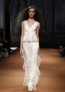 Платье с заниженной талией в стиле чикаго
