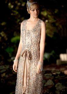 Платье в стиле гетсби