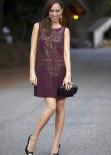 Платье на каждый день в стиле ретро