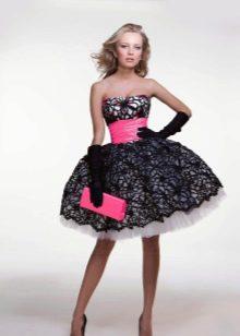 Стиляжное платье на выпускной