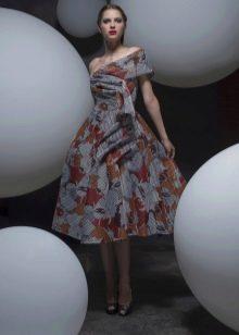 Вечернее платье в стиле стиляг