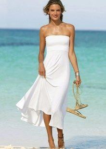 Платье-юбка для худой девушки