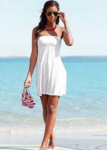 Короткое платье-юбка
