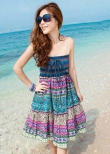 Платье-юбка на резинке