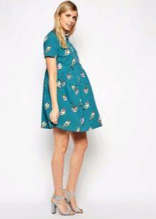 Платье-трапеция для беременных