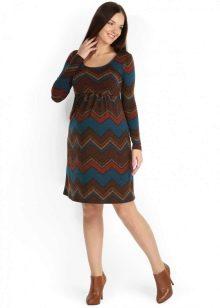 Платье для беременных из натуральной ткани
