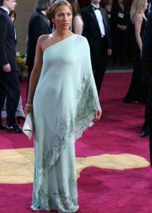 """Длинное платье в греческом стиле для фигуры типа """"Груша"""""""