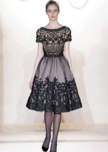 """Платье (принцесса) с юбкой колокол для фигуры """"Стройная колонна"""""""