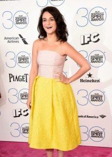 """Платье с юбкой тюльпан для фигуры типа """"Перевернутый треугольник"""""""