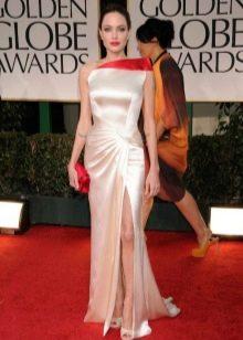 """Платье для фигуры типа """"Перевернутый треугольник"""" - Анджелина Джоли"""