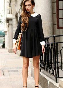 Платье с завышенной талией для худых