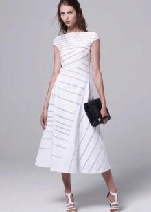 Платье в полоску в разном направлении