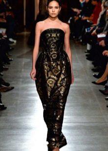 Платье в стиле барокко  баллон