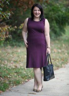 Повседневное платье прямого кроя для прогулок