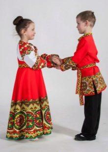 Русский народный костюм для детей