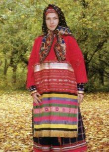 Русский  крестьянский сарафан 18 столетия