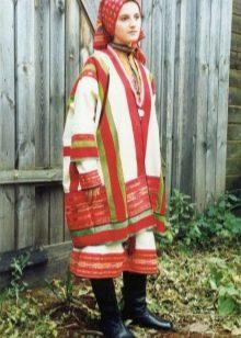 Русский крестьянский сарафан 18 века