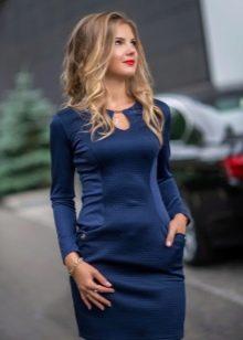 Турецкое трикотажное платье