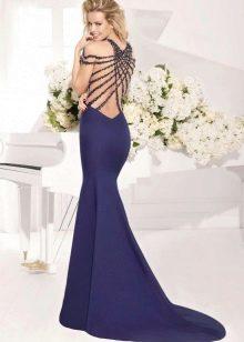 Платье русалка из джерси