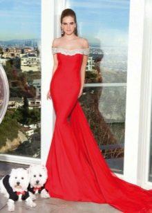 Платье русалка из трикотажа