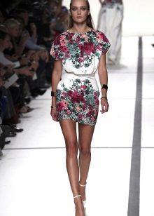 трикотажное платье для лета