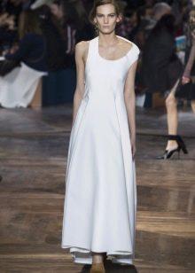Весеннее платье асимметричное  в пол