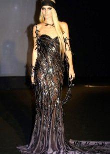 Декор весеннего платья