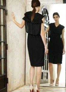 Платье на каждый день черное