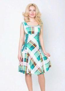 Домашнее платье-сарафан