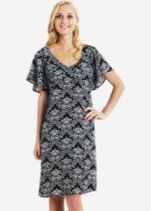 Домашнее платье свободного кроя