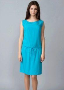 Домашнее платье с заниженной талией