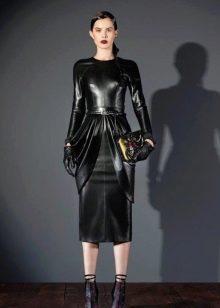 aee3059203b Кожаные платья (платья из кожи)  модные фасоны