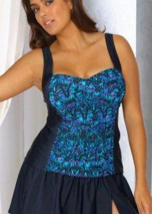 Купальное платье для женщин с фигурой Груша