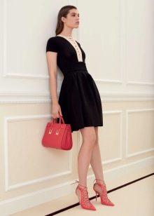 Платье для работы офисное черное