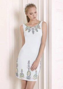 Платье-футляр летнее