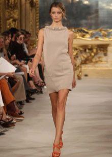 Платье из трикотажа летнее