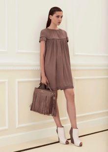 Платье из трикотажа летнее повседневное