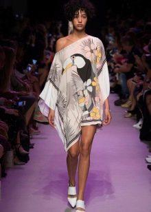 Летнее платье туника