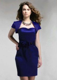 Платье-бандо с болеро