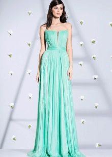 Платье без бретелей от Кристалини