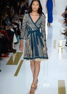Повседневное платье-халат от Дианы фон Фюрстенберг