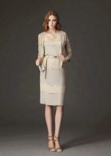 Платье из джерси дизайнерсое