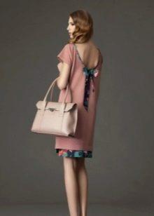 Платье из джерси с открытой спиной