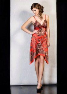 Платье из павлопосадских платков сделать самой