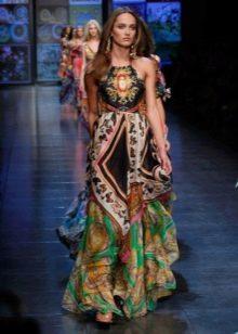 Платье-сарафан из платков