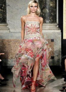 Платье летнее из платков