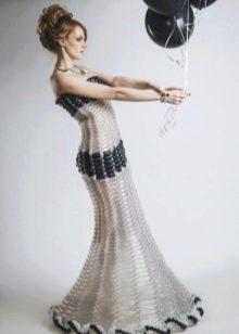Платье из шариков русалка